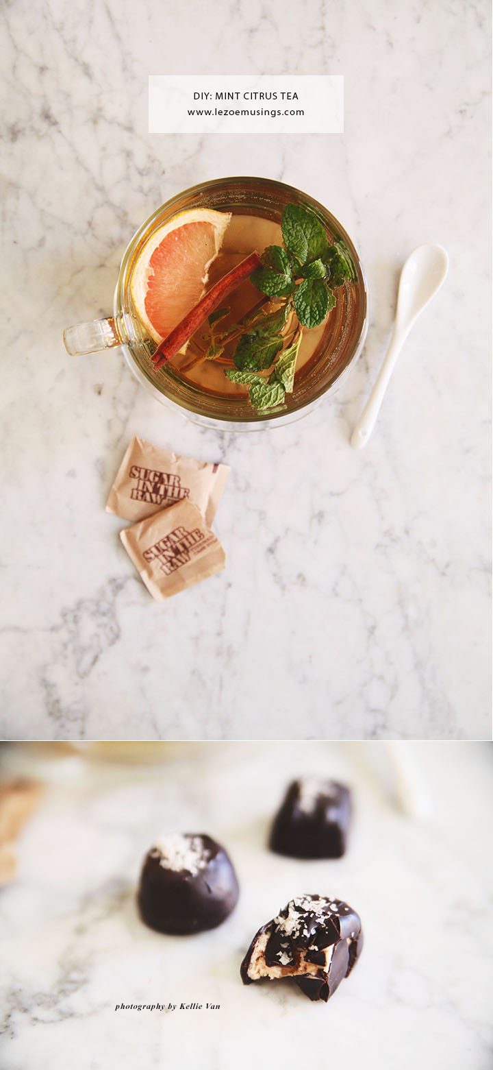 Cinnamon Peppermint Citrus Tea by Le Zoe Musings3