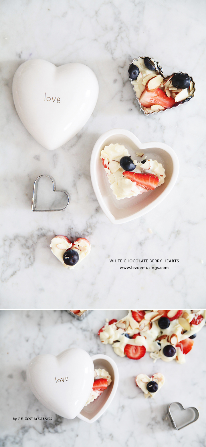 White Chocolate Berry Hearts Valentine's Treats by Le Zoe Musings2