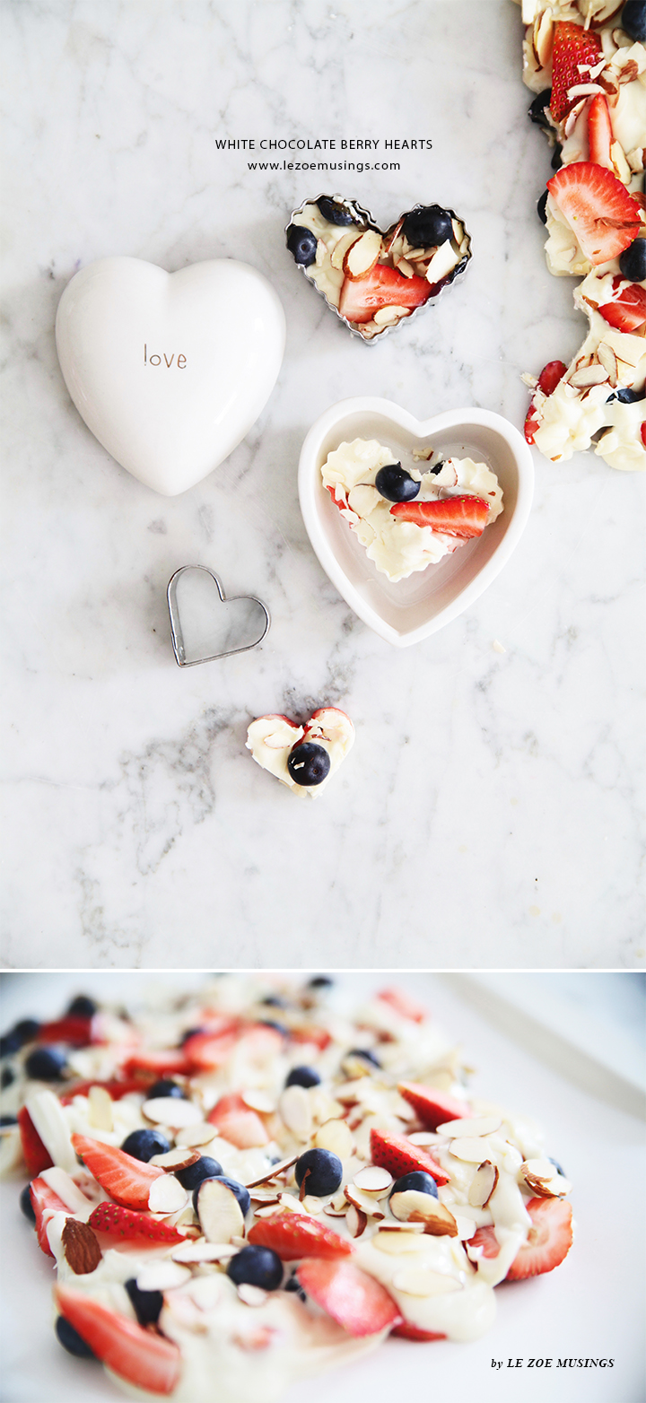 White Chocolate Berry Hearts Valentine's Treats by Le Zoe Musings4