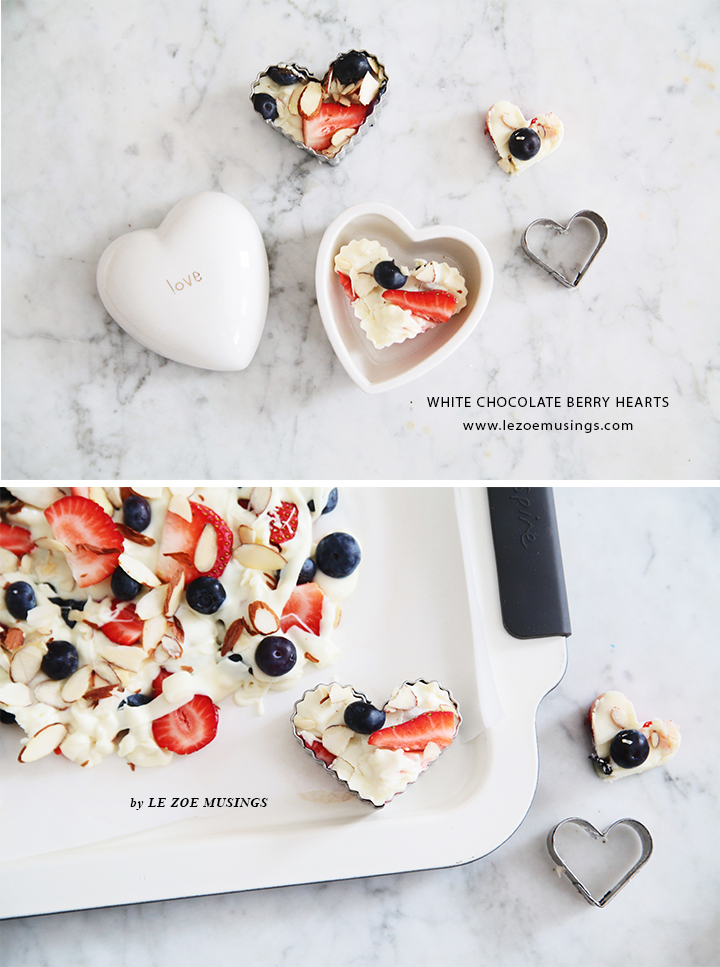 White Chocolate Berry Hearts Valentine's Treats by Le Zoe Musings5