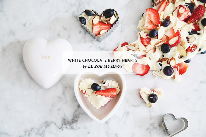 White Chocolate Berry Hearts Valentine's Treats by Le Zoe Musings6