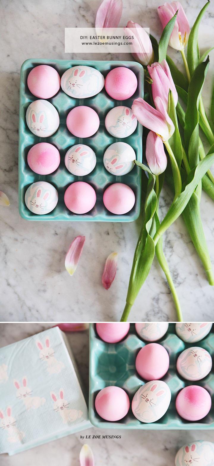 DIY Easter Bunny Eggs by Le Zoe Musings4