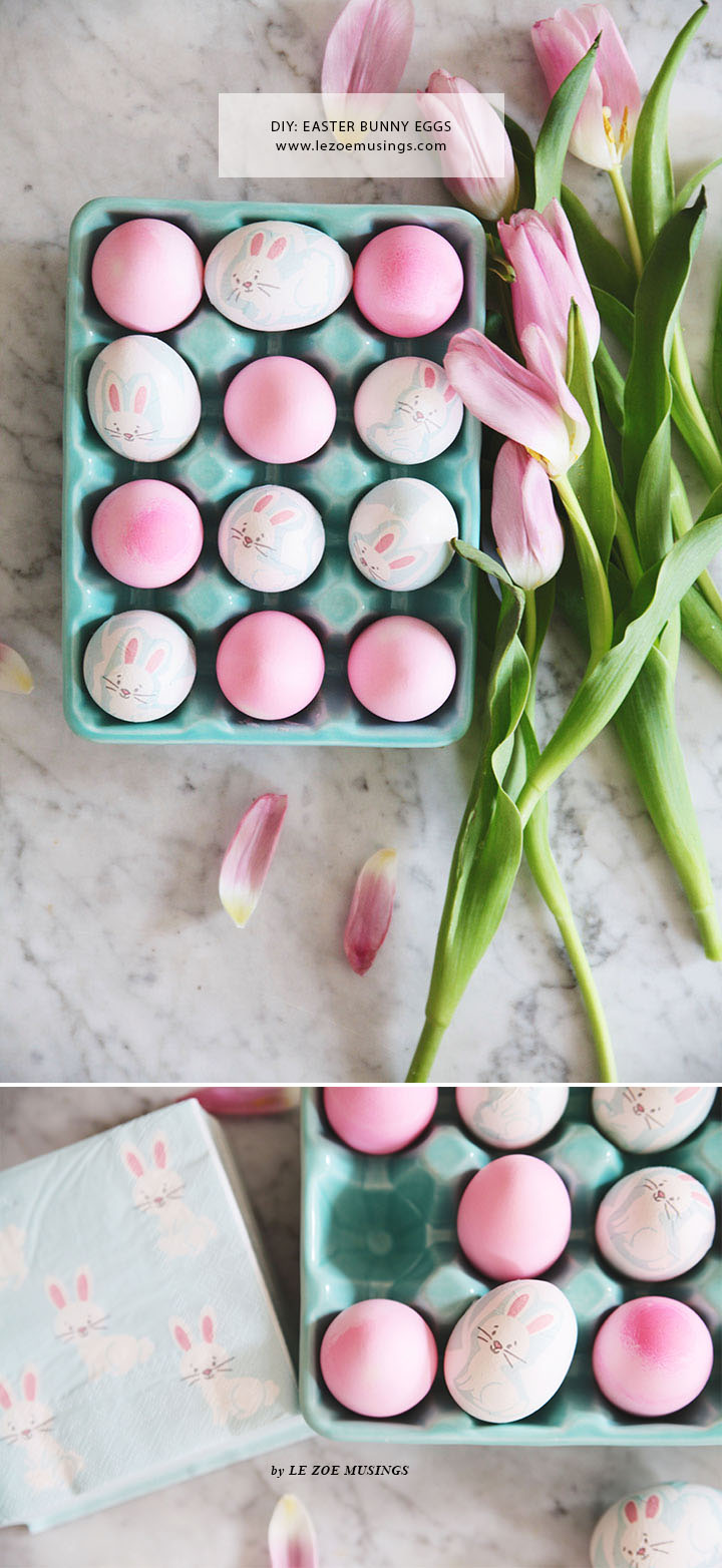 DIY Easter Bunny Eggs by Le Zoe Musings4