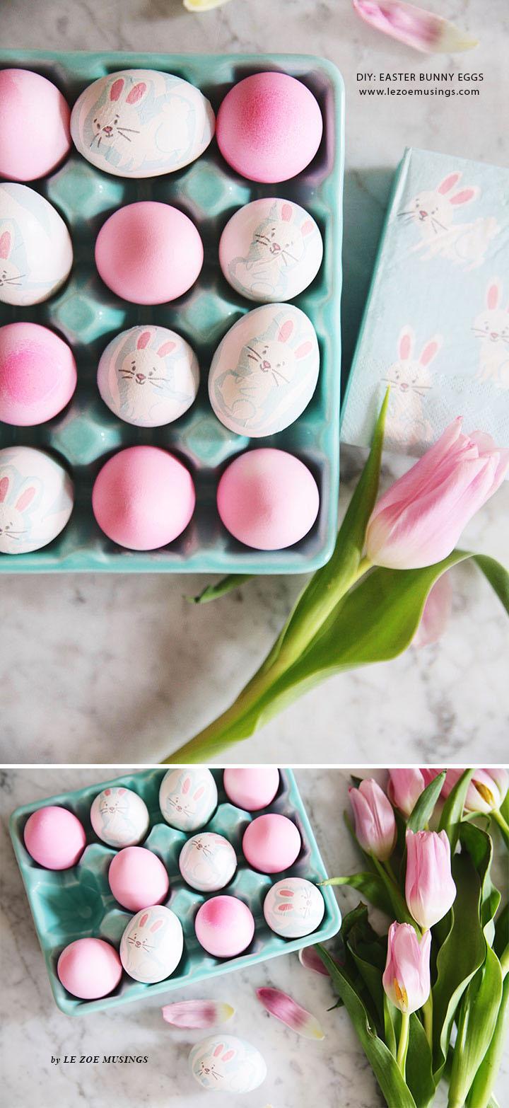 DIY Easter Bunny Eggs by Le Zoe Musings5