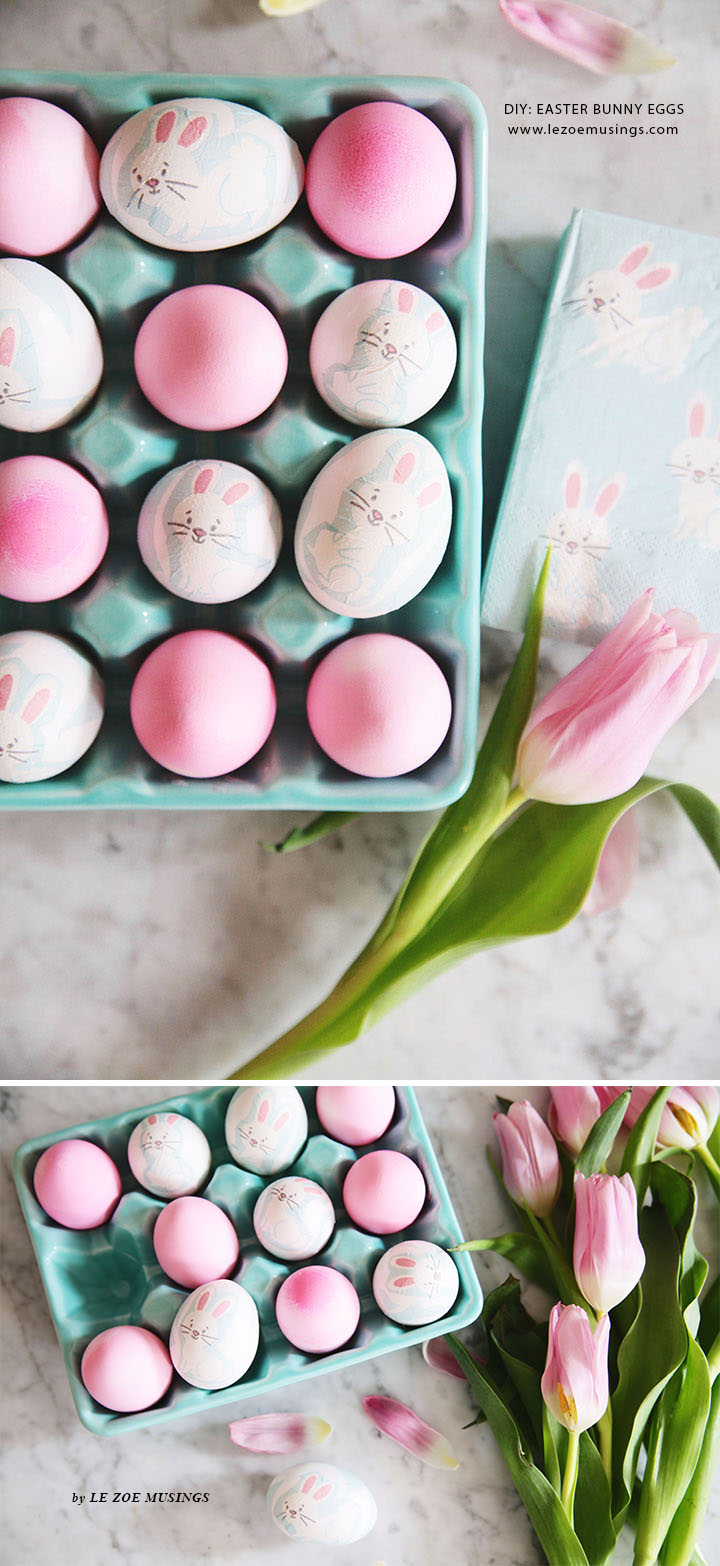 DIY Easter Bunny Eggs by Le Zoe Musings5