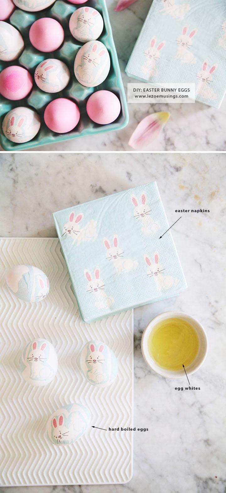 DIY Easter Bunny Eggs by Le Zoe Musings6