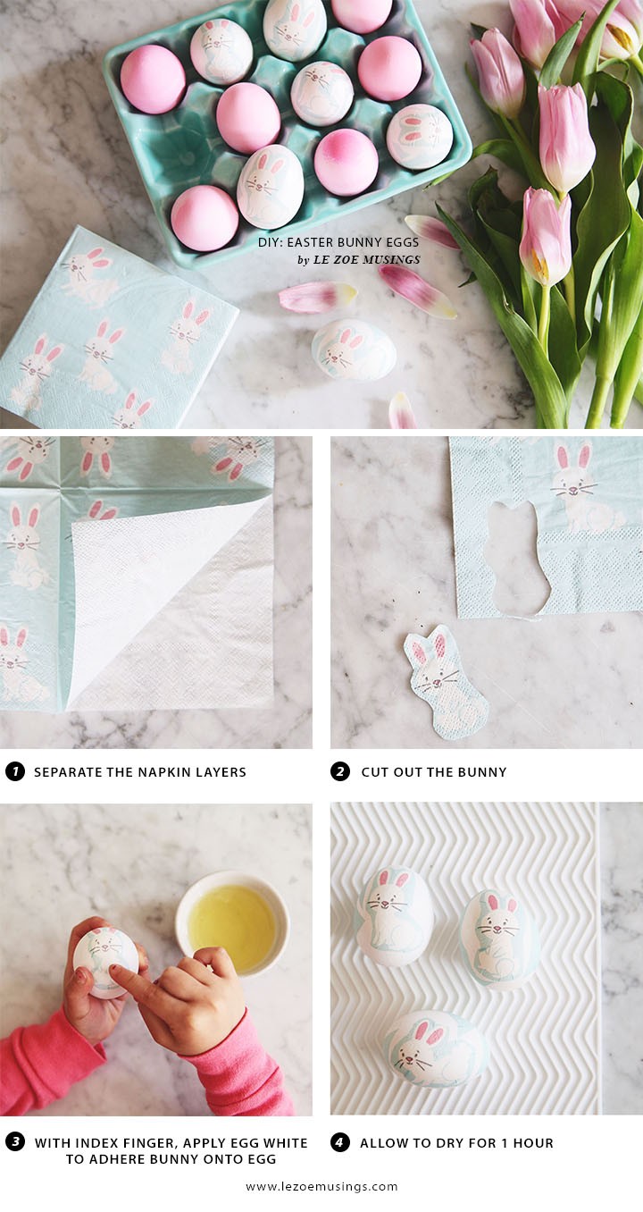 Easter Bunny Eggs Pictorial by Le Zoe Musings