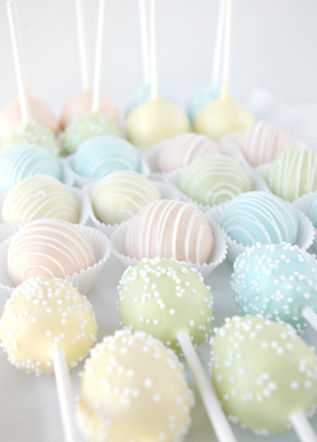 Spring Cake Pops - 2