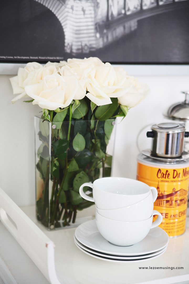 Cafe Station in the Living Room by Le Zoe Musings4