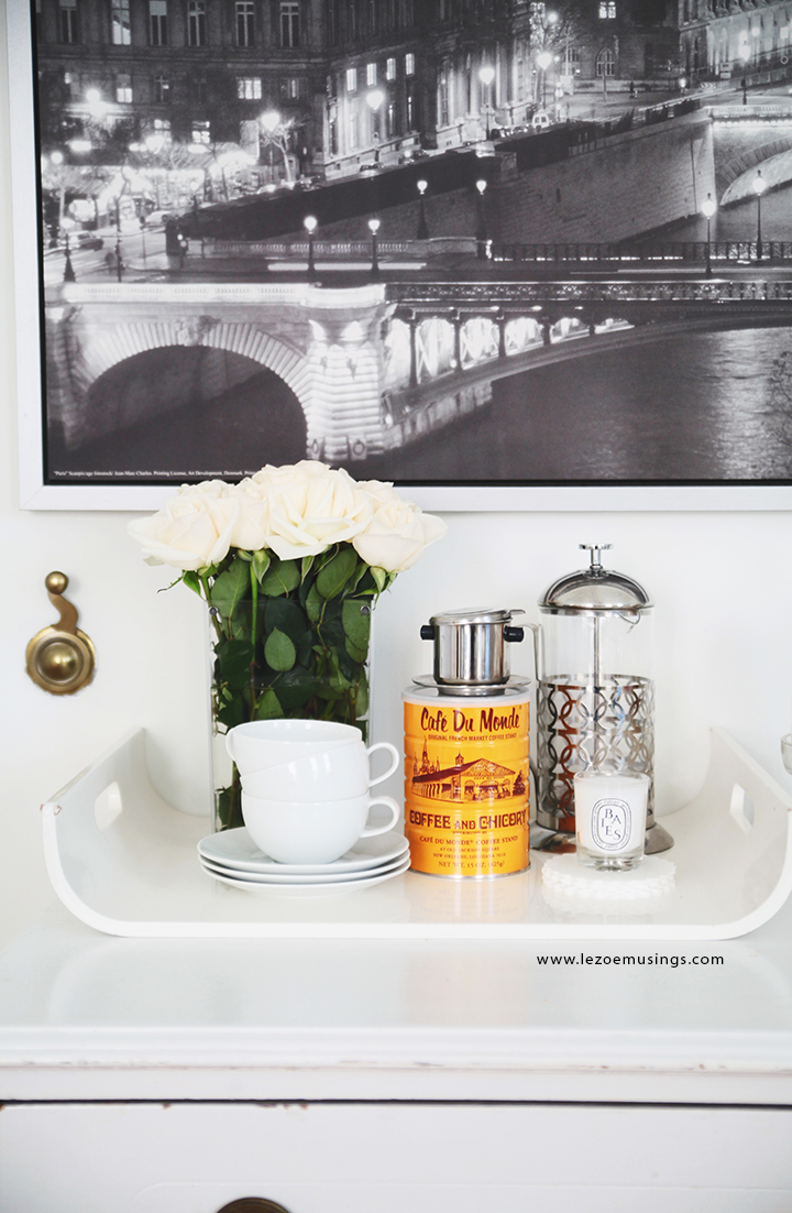 Cafe Station in the Living Room by Le Zoe Musings7