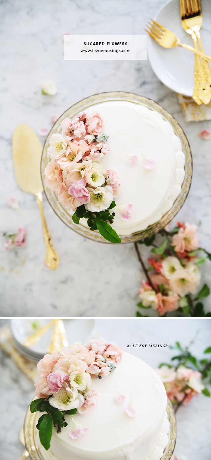 DIY Sugarlized Flowers_by Le Zoe Musings A