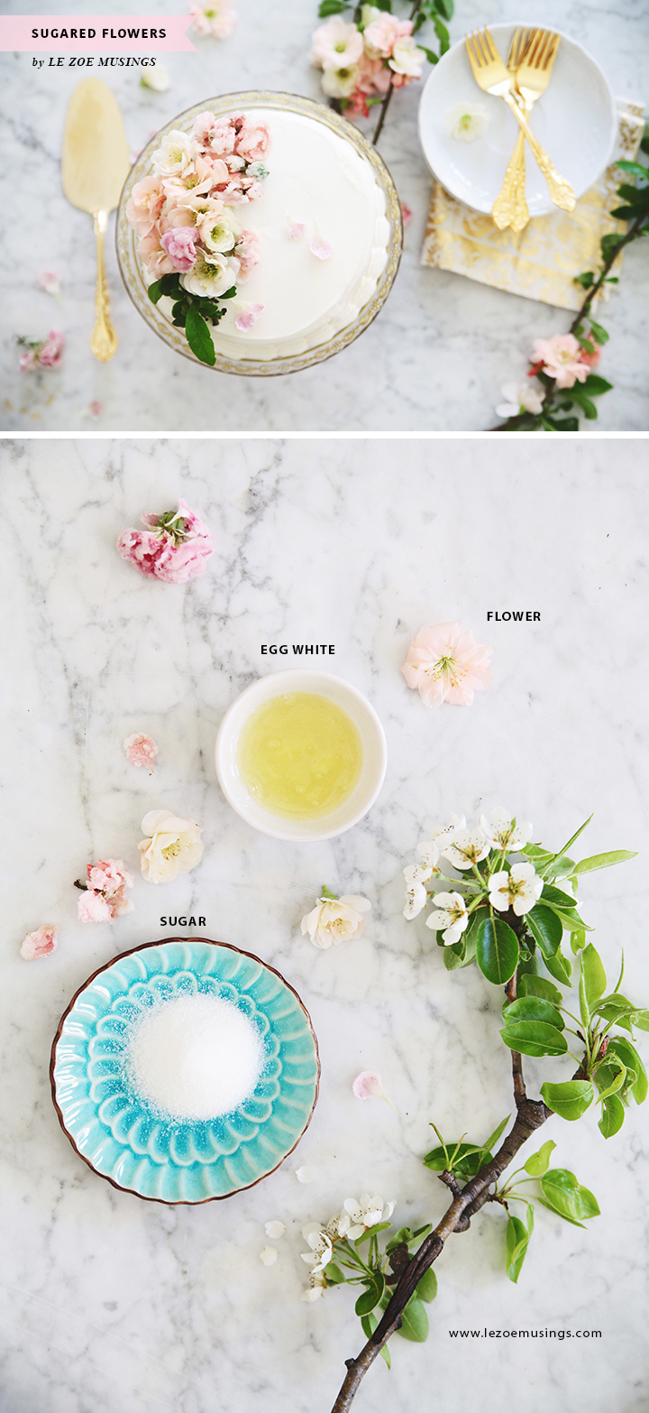 DIY Sugarlized Flowers_by Le Zoe Musings B