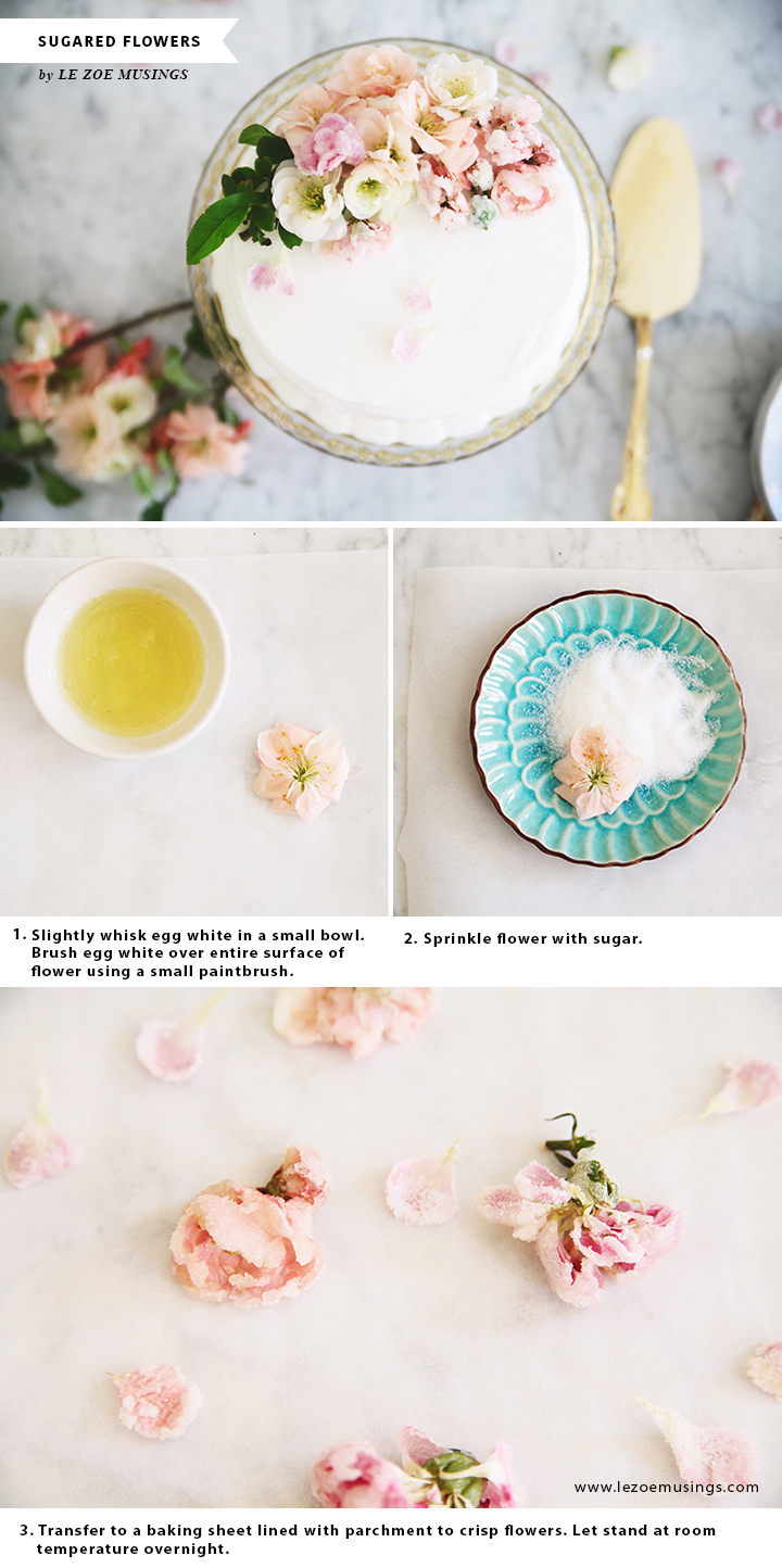 DIY Sugarlized Flowers_by Le Zoe Musings C