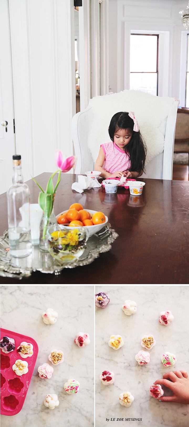 Mini Frozen Yogurt Flowers4