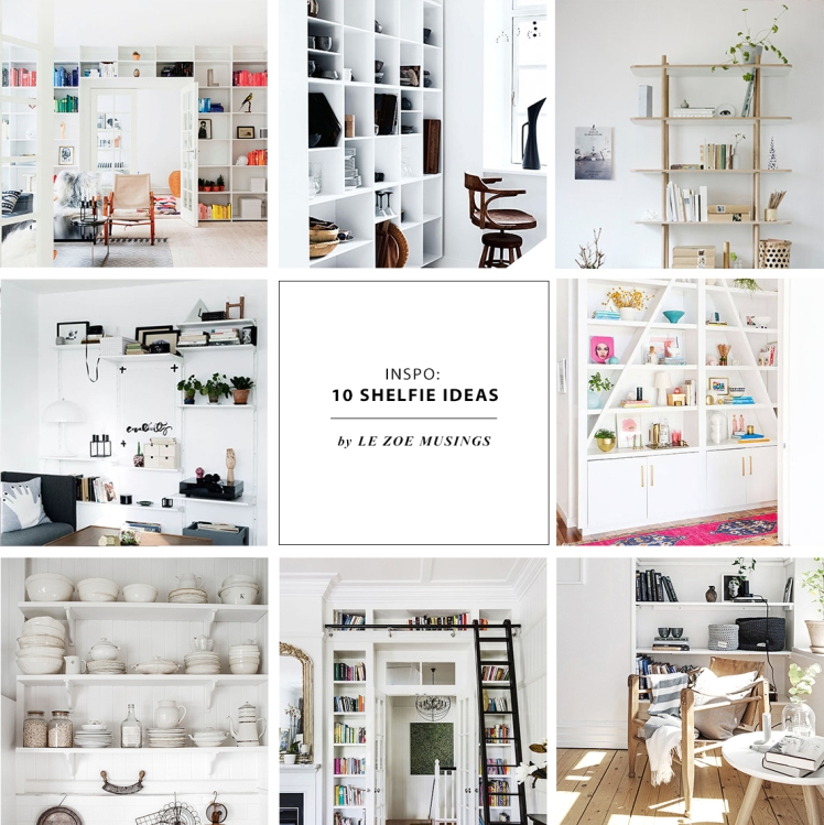 Shelfie inspo by Le Zoe Musings