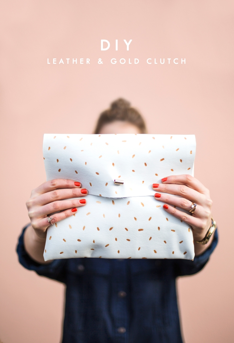 DIY-metallic-dotted-clutch-easy-fashion-crafts-