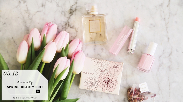 SPRING BEAUTY EDIT BY LE ZOE MUSINGS