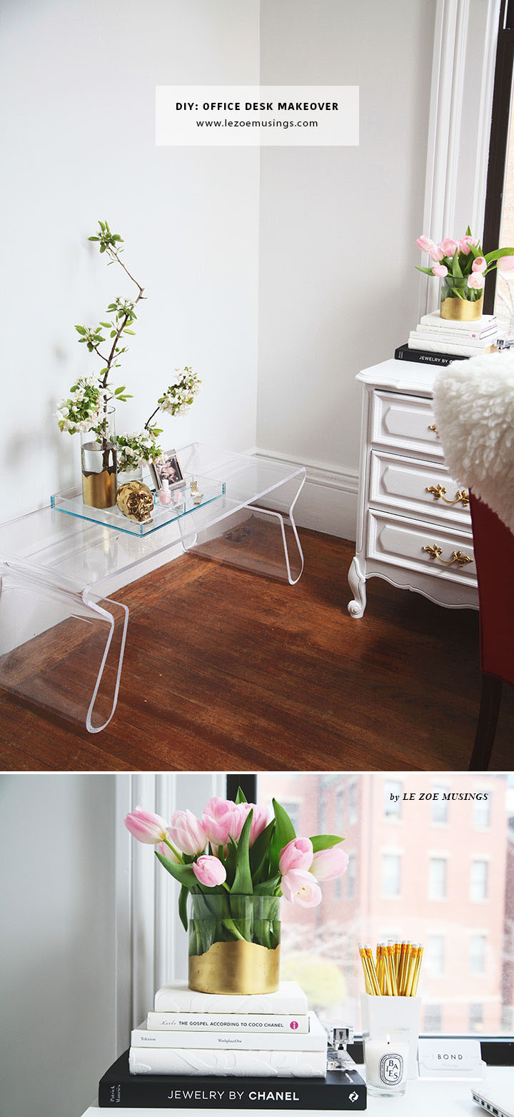 Thrifted Office Desk Makeover by Le Zoe Musings3