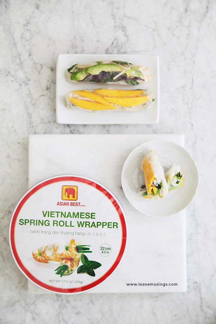 Vietnamese Summer Rolls by Le Zoe Musings3