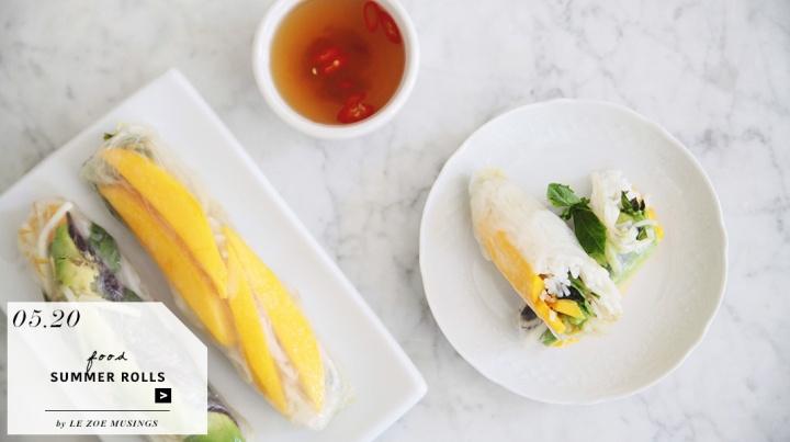 Vietnamese Summer Rolls by Le Zoe Musings_feature