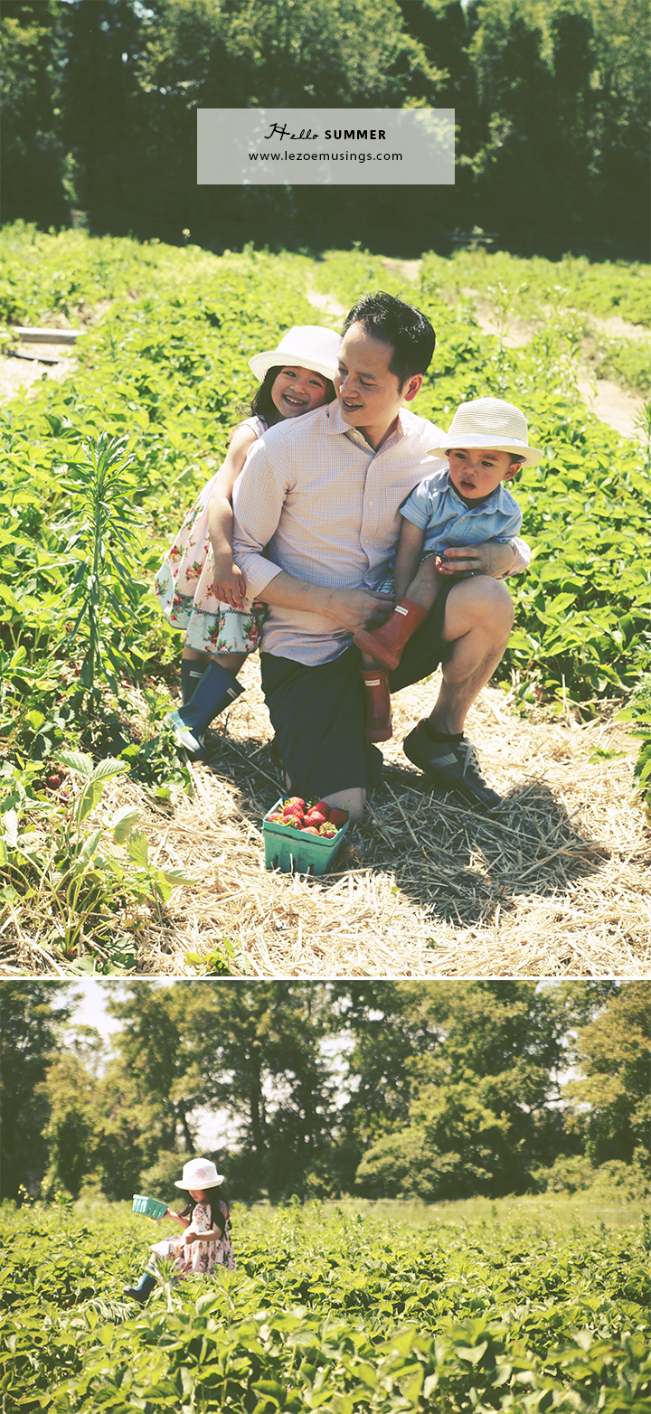 Father's Day Strawberry Picking by Le Zoe Musings