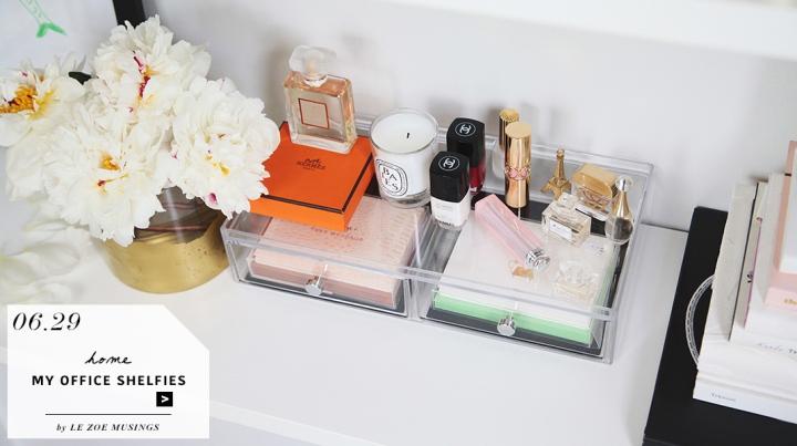My Office Shelfies by Le Zoe Musings