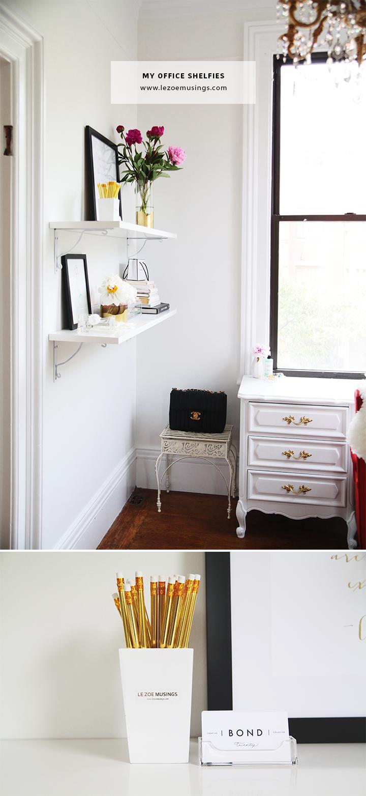 My Office Shelfies by Le Zoe Musings3