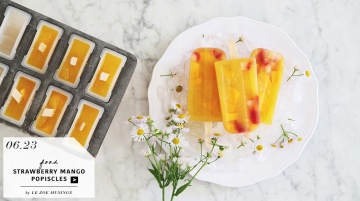 Strawberry Mango Popsicles by Le Zoe Musings_feature