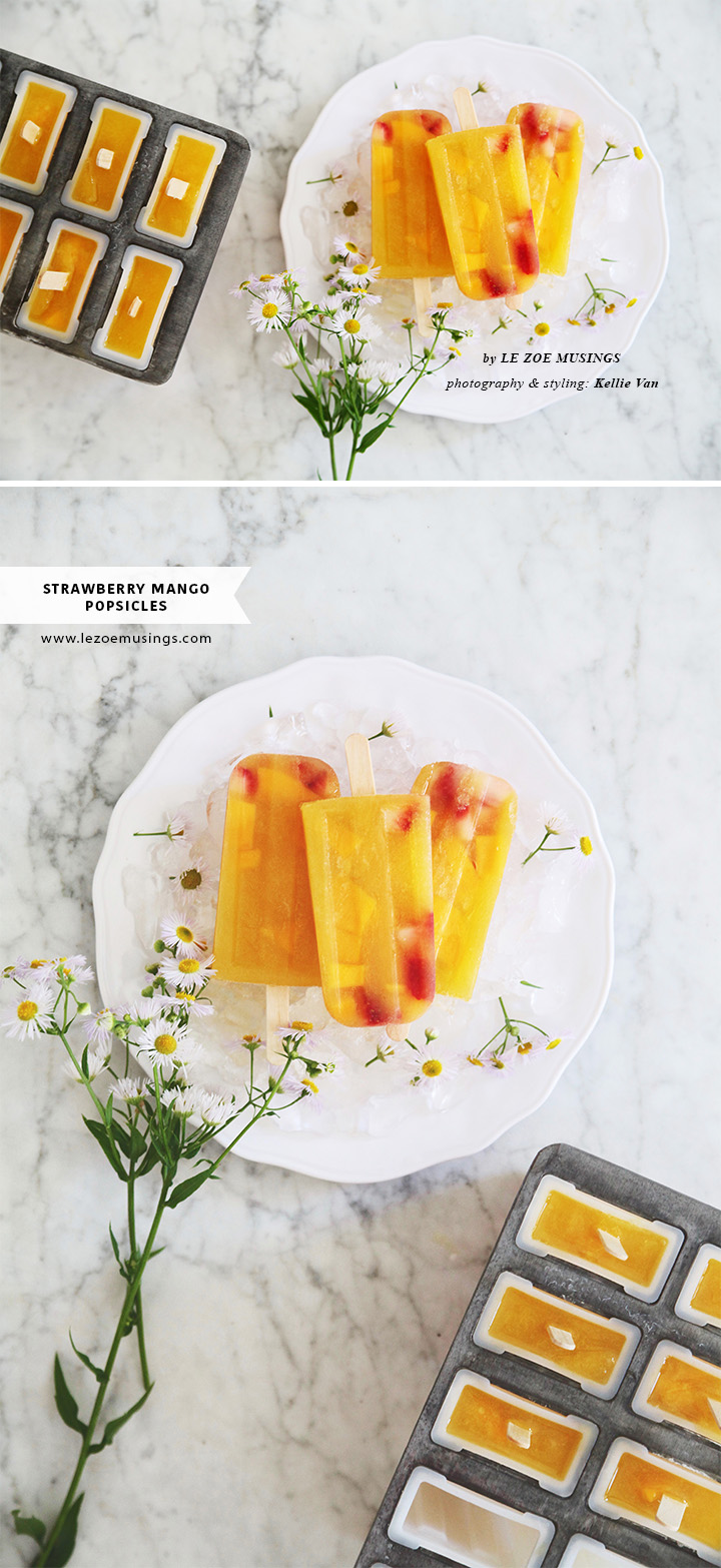 Strawberry Mango Popsicles2 by Le Zoe Musings