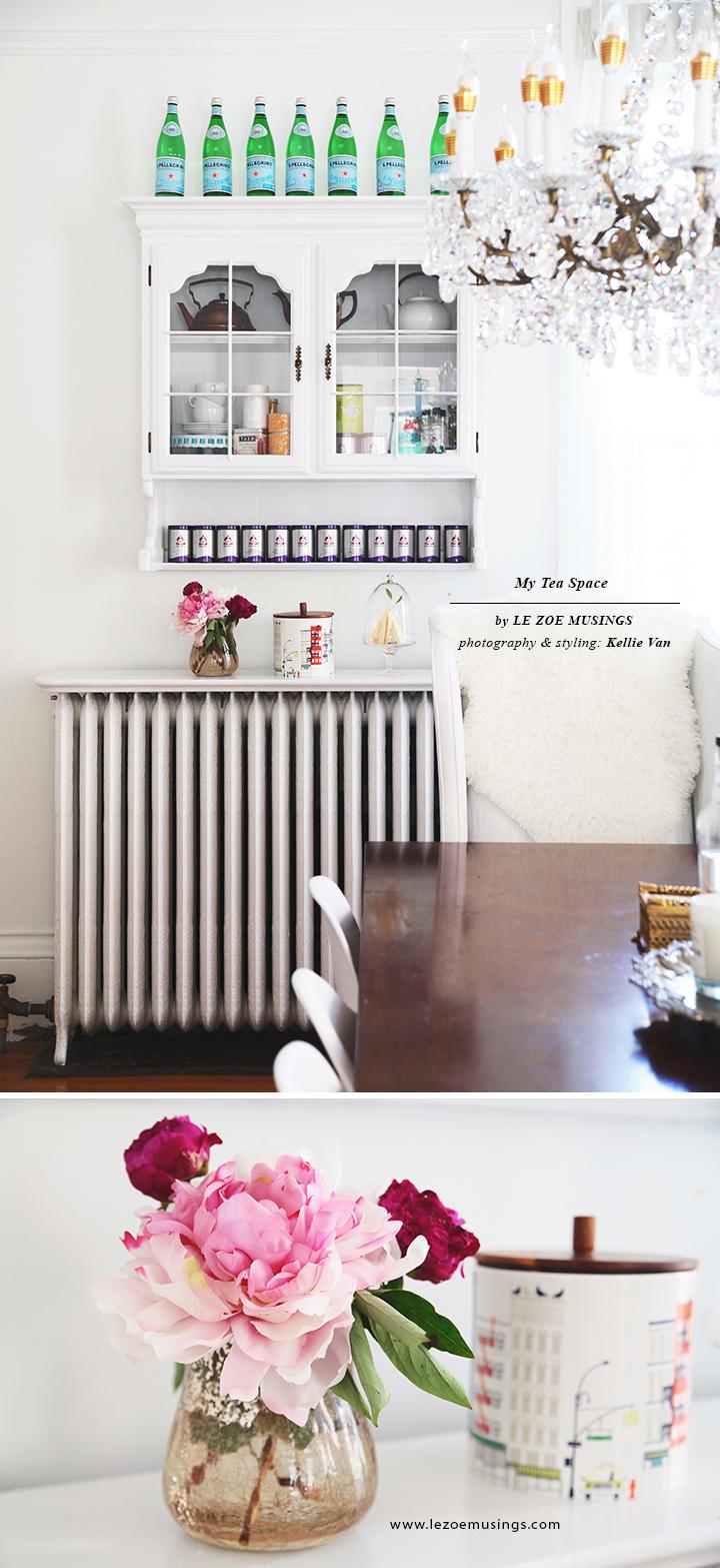 Tea Space in Dining Room 2 by Le Zoe Musings copy