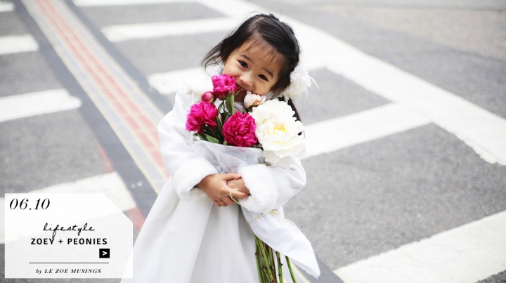 Zoey and Peonies in the Streets of Boston_Feature by Le Zoe Musings