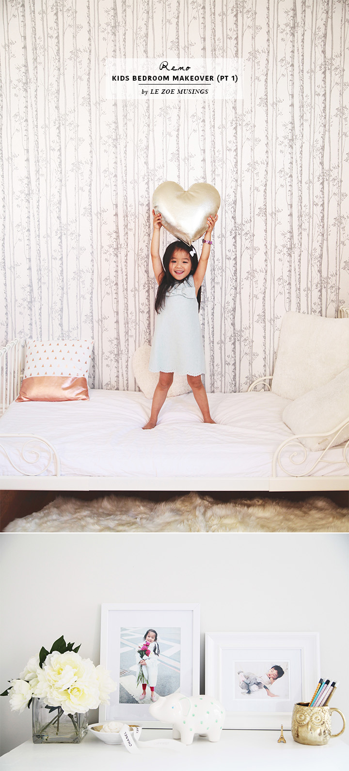 Kids Bedroom Makeover by Le Zoe Musings