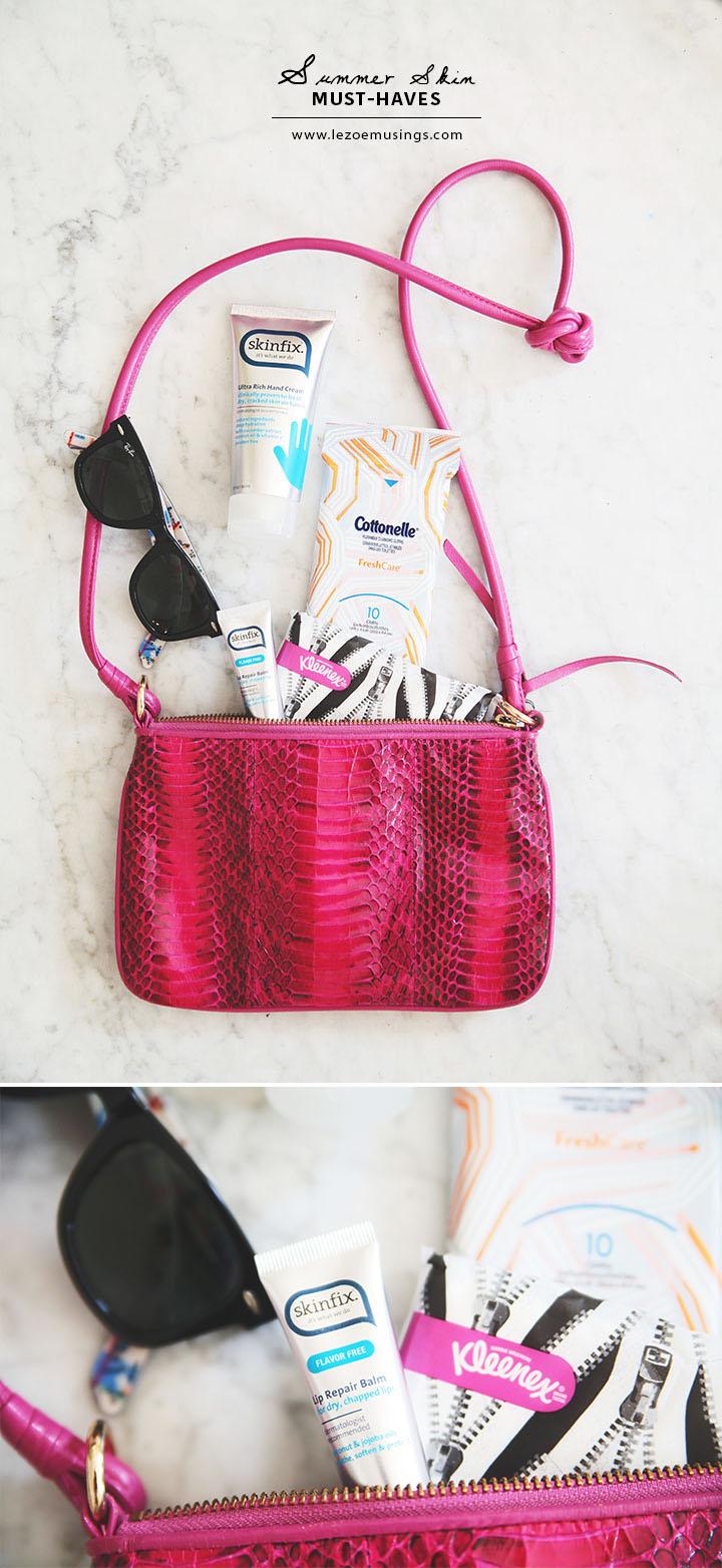 Summer Skin Must-Haves by Le Zoe Musings