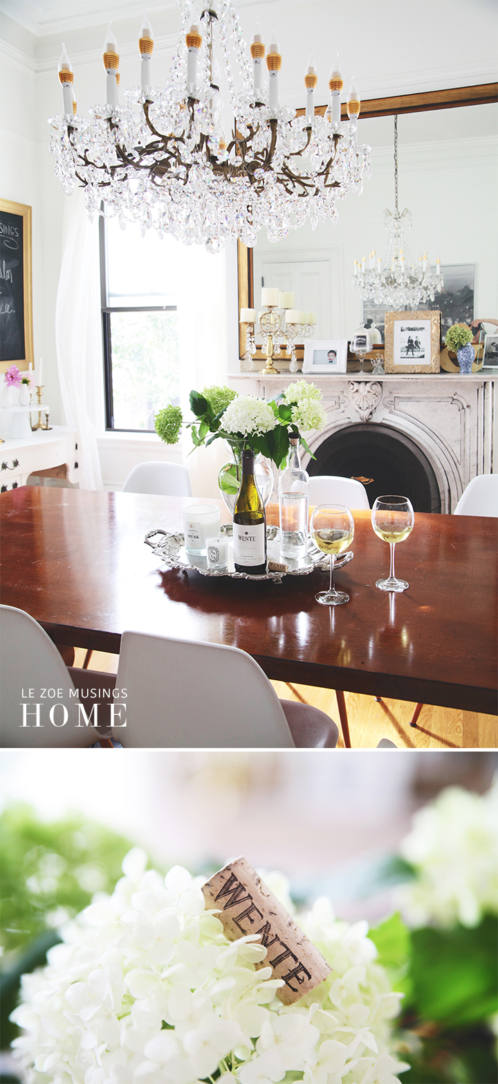 Bright Dining Room 2_by Le Zoe Musings