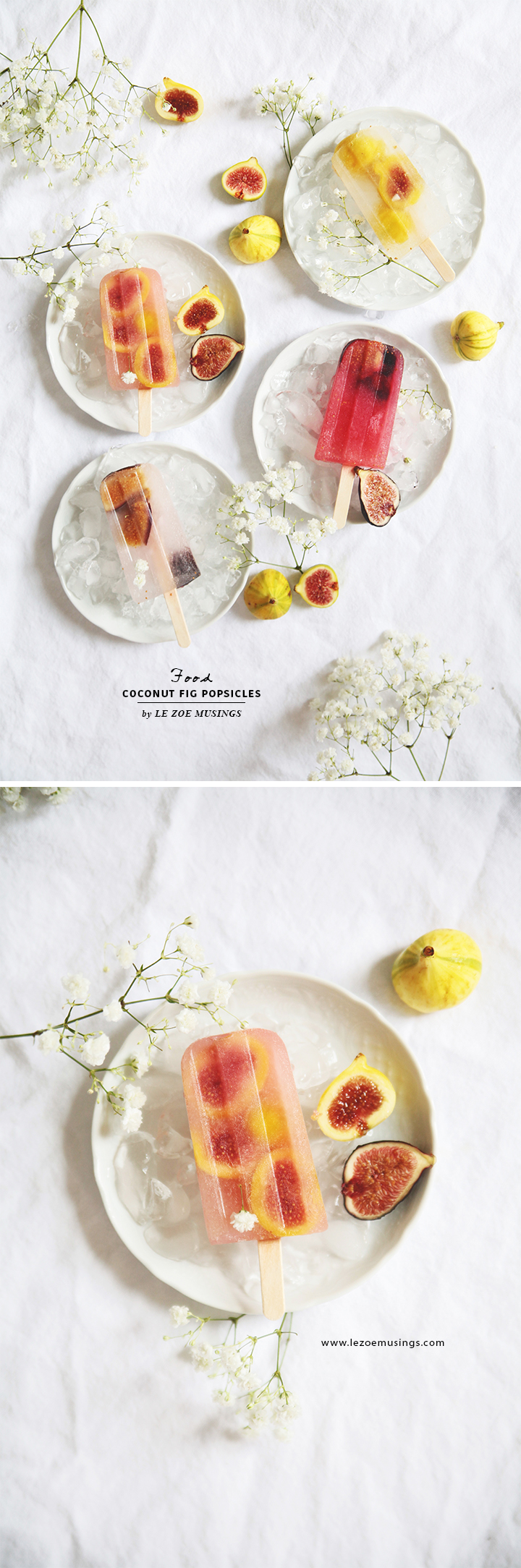Coconut Fig Popsicles by Le Zoe Musings3