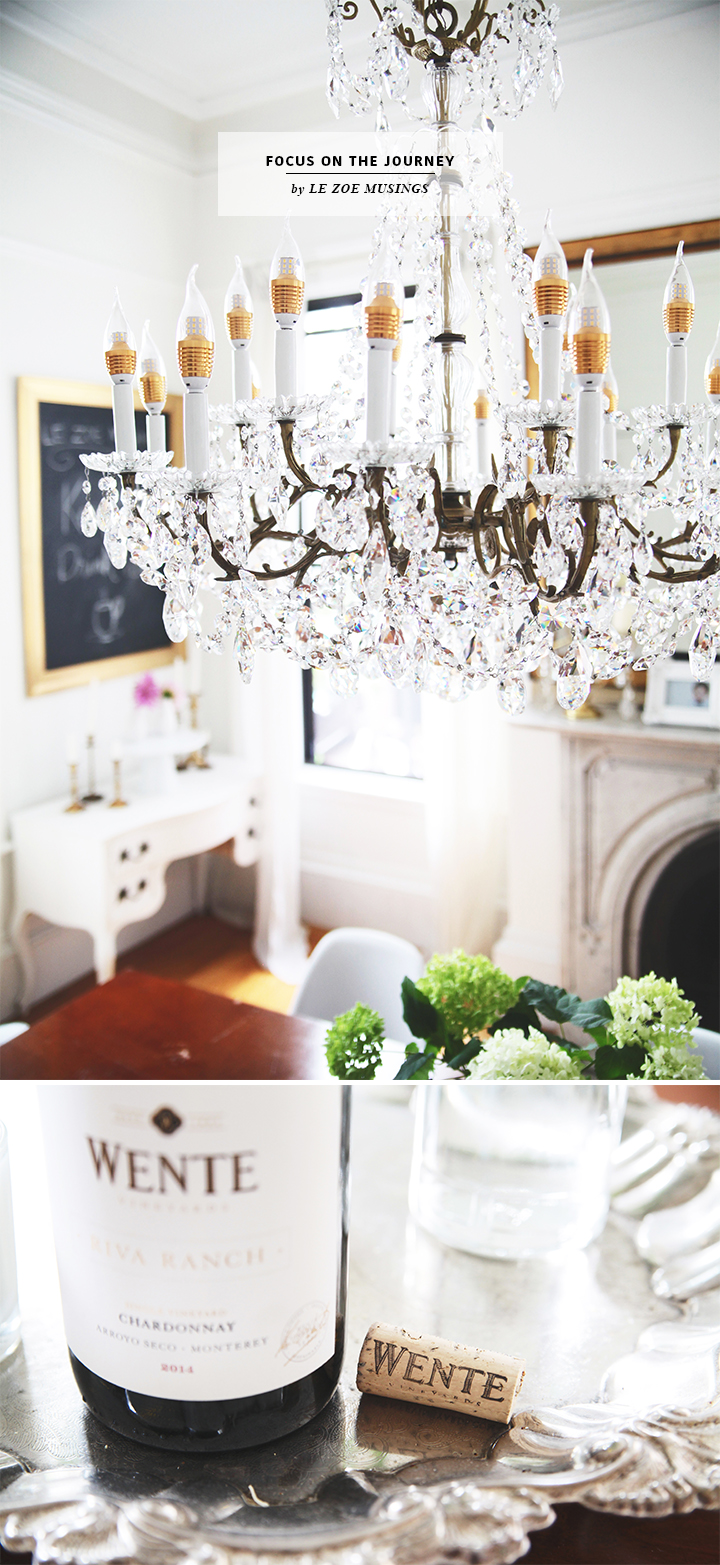 Focus on the Journey_ Chandelier in Dining Room_by Le Zoe Musings