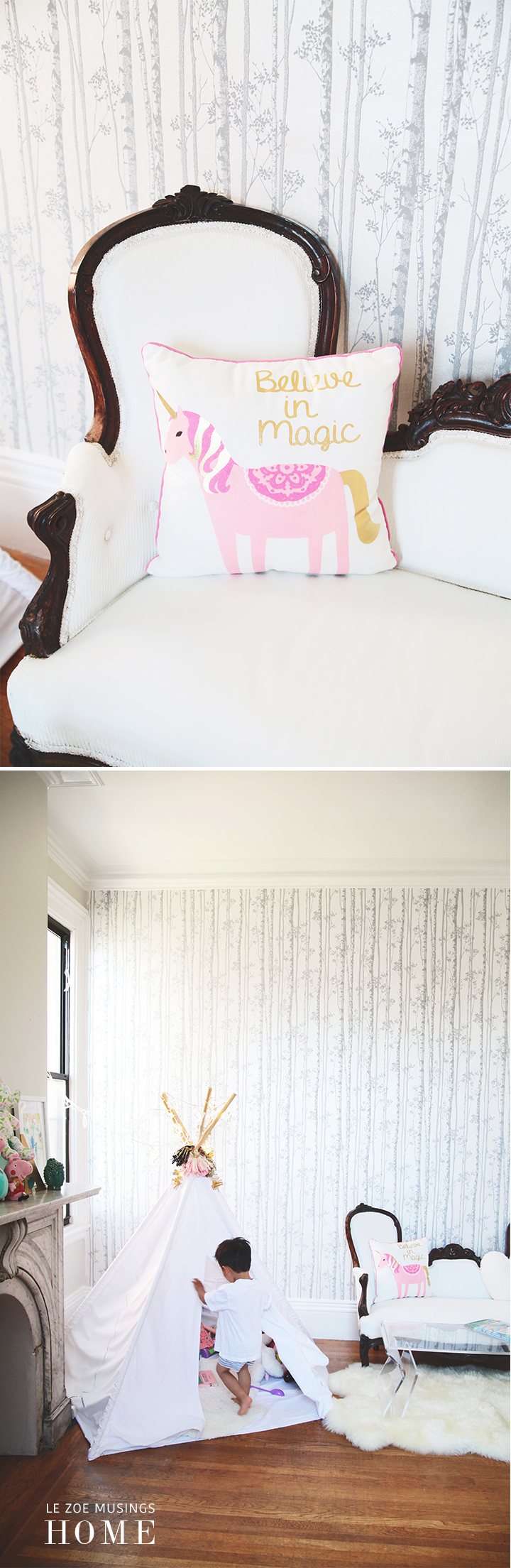 Kids Bedroom Makeover by Le Zoe Musings 5