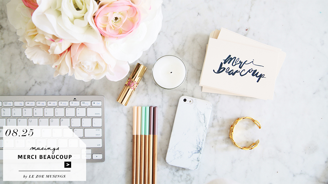 Merci Beaucoup Stationery by Elum Designs_Le Zoe Musings