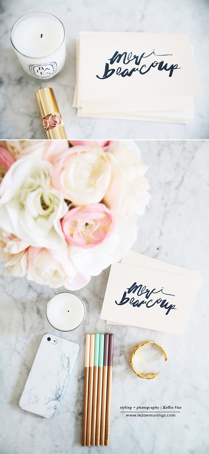 Merci Beaucoup Stationery by Elum Designs_Le Zoe Musings2